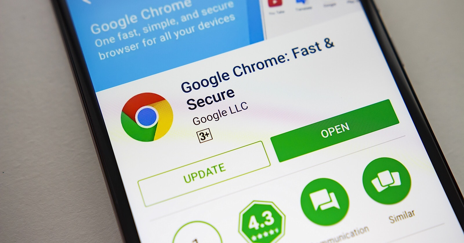 Google Chrome Browser for Android and iOS Devices