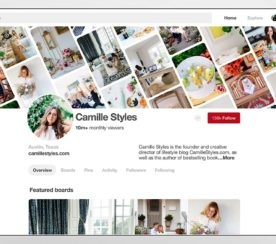 Pinterest Business Profiles to Display Total Monthly Viewers
