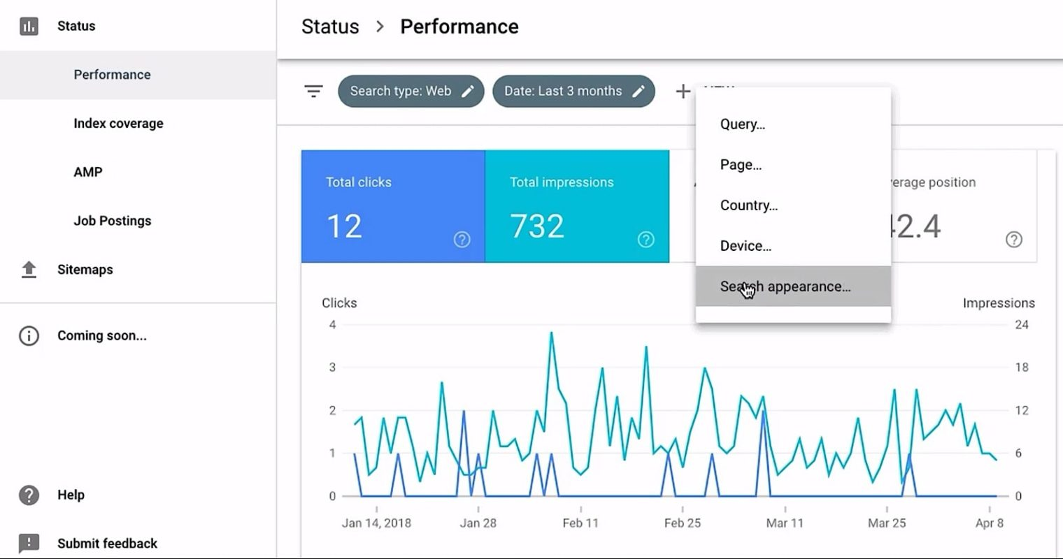 Google Search Console Update: Filter Reports by Result Type