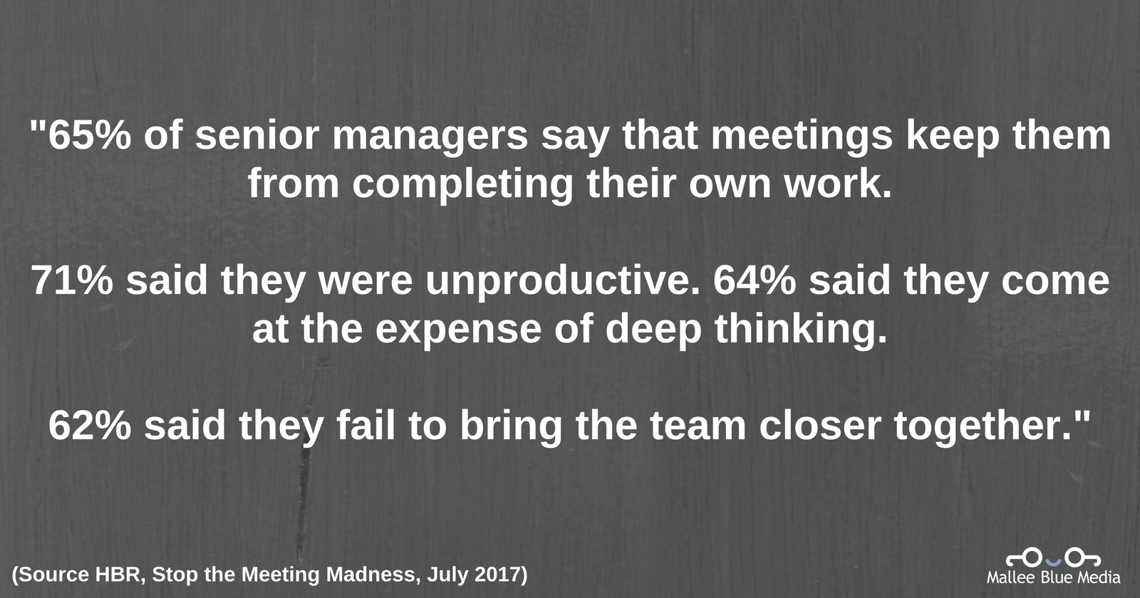 Business Meeting Viewed Negatively HBR