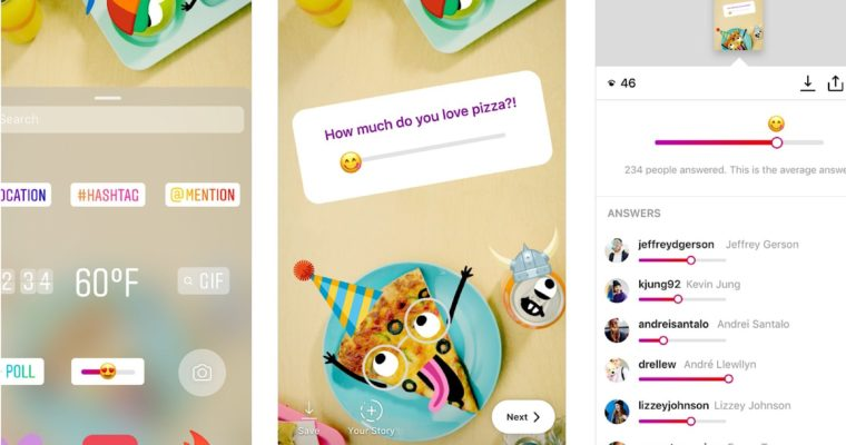 Instagram's New Emoji Sliders Can Gauge Your Audience's Opinion on Topics