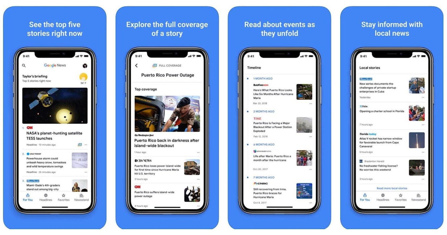 All-New Google News App Now Available on iPhone and iPad
