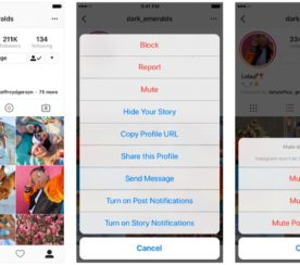 Instagram Lets Users 'Mute' Other Accounts