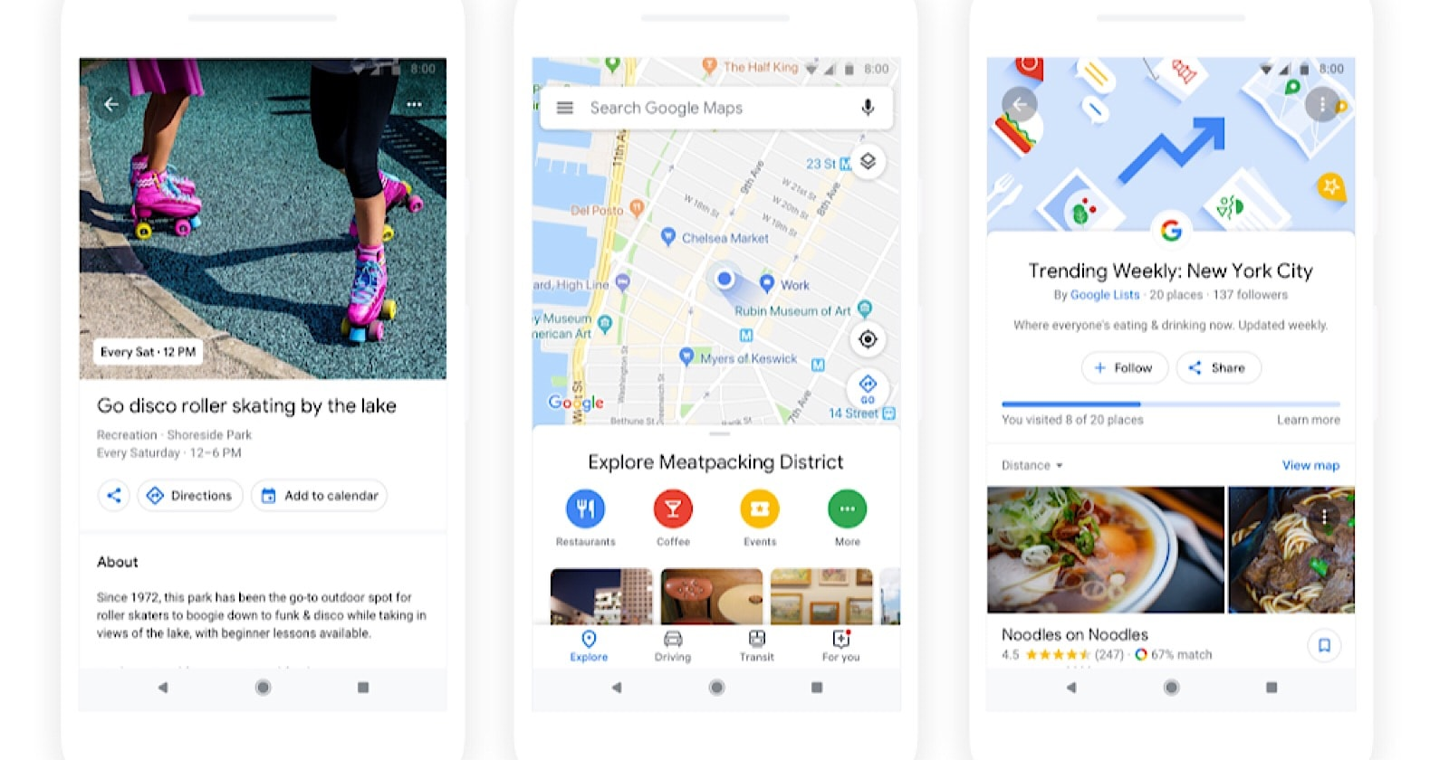 Google Maps to Deliver More Personal Recommendations Based on Machine Learning by @MattGSouthern