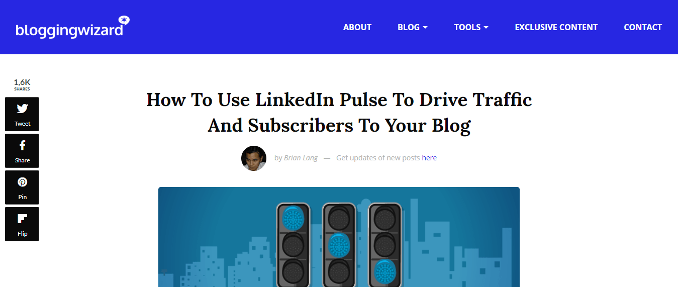 Blogging Wizard - LinkedIn Article