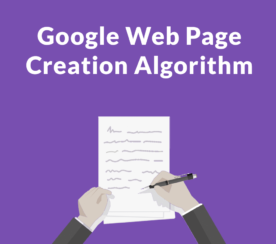 Google's New Algorithm Creates Original Articles From Your Content