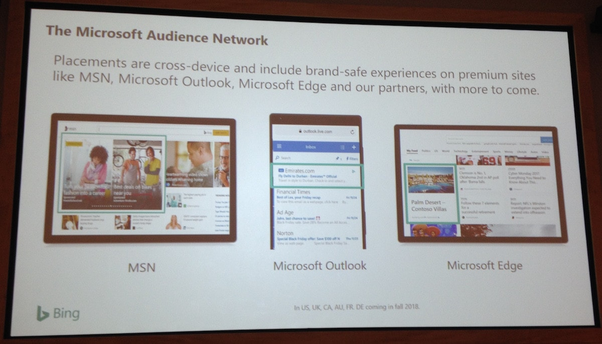 Microsoft Audience Network