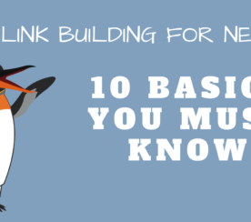 Link Building for Newbies: 10 Basics You Must Know