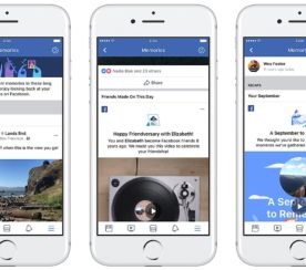 """Facebook's New """"Memories"""" Page Highlights Engaging Posts from Years Past"""
