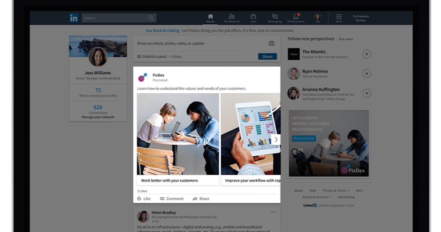 LinkedIn Expands Sponsored Content Offerings With Carousel Ads
