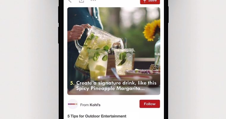 Pinterest Introduces Max Width Promoted Videos