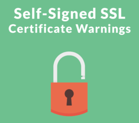 Risks in Using Self-Signed SSL Certificates