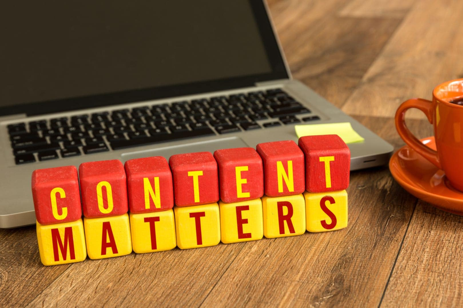 Quality and engaging content is essential for SEO