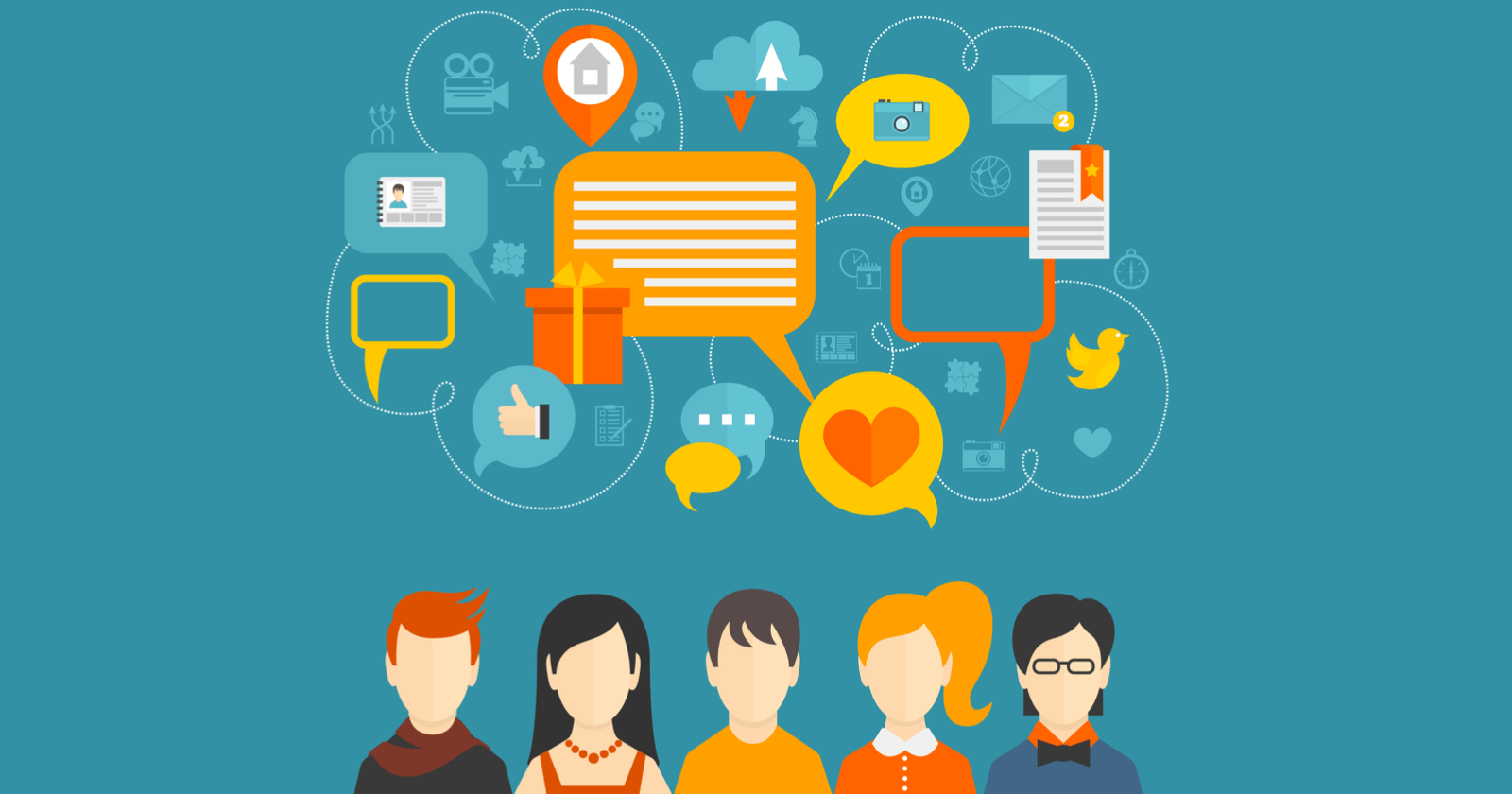 50 Social Sharing Sites That Boost Seo Drive Traffic All Electronic Component Illustration On This Page And Following Pages