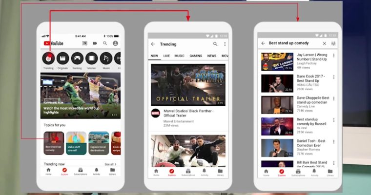 YouTube's New 'Explore' Tab Helps Users Discover Videos Based on Viewing Activity