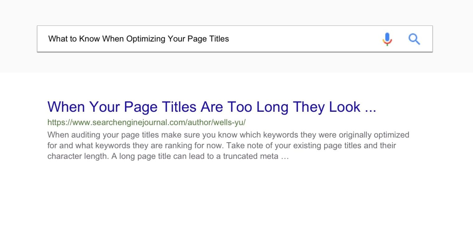 How to Audit & Improve Your Page Titles for SEO