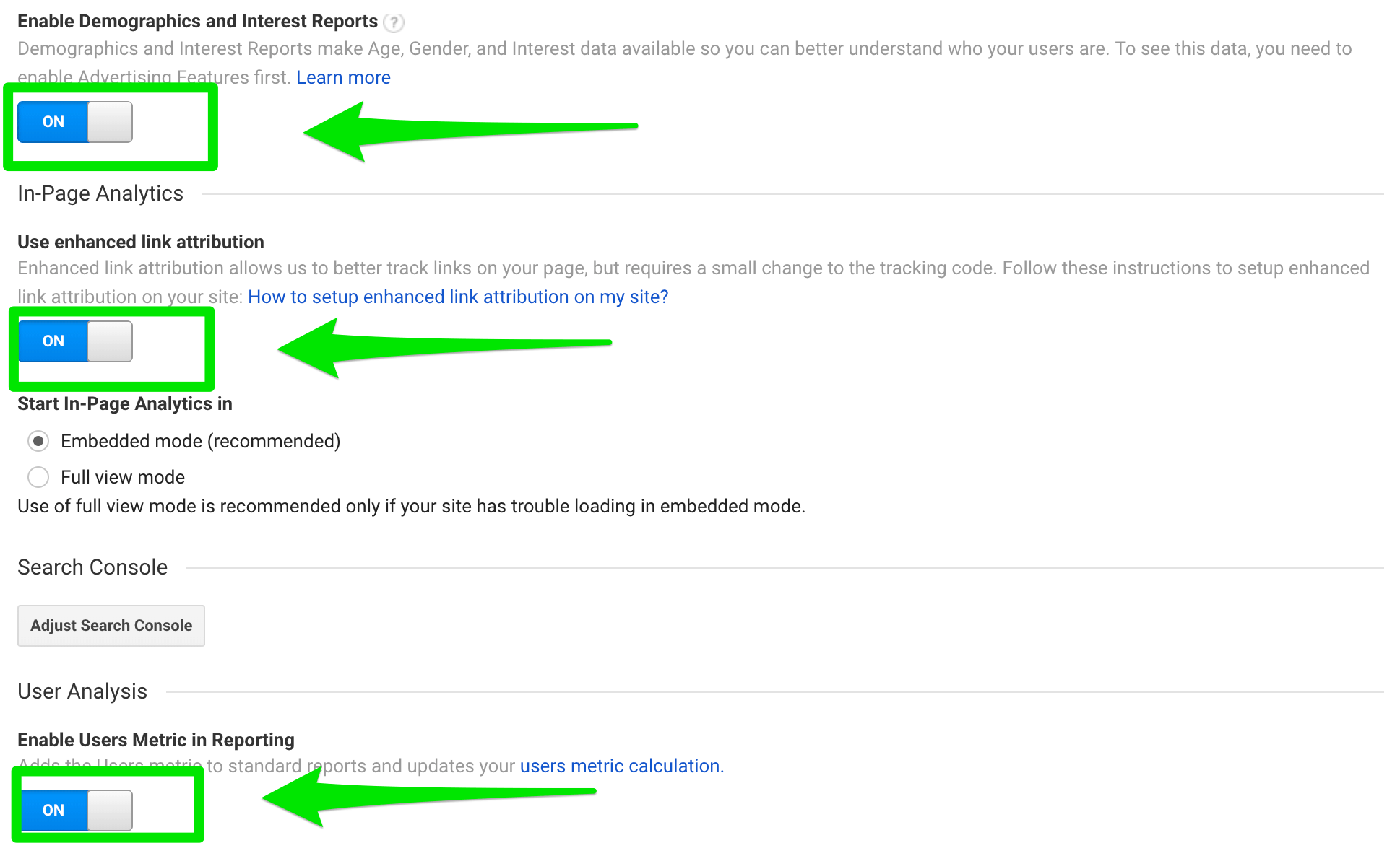 google-analytics-property-settings