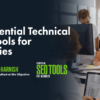20 Essential Technical SEO Tools for Agencies