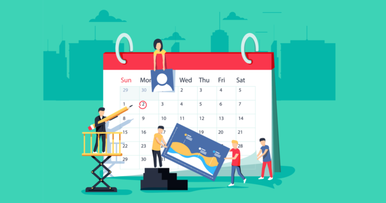 how to create your editorial calendar for social media