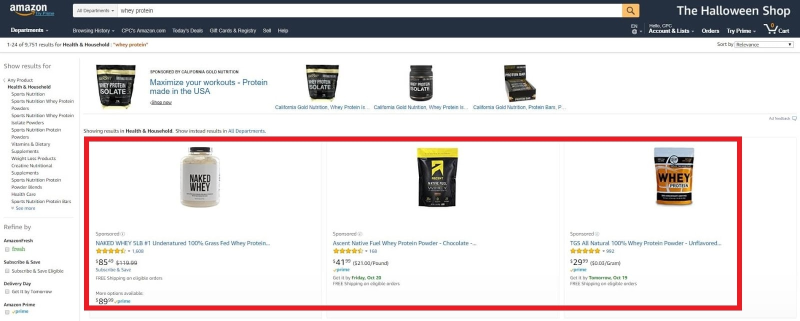 Amazon's Search Engine Ranking Algorithm: What Marketers