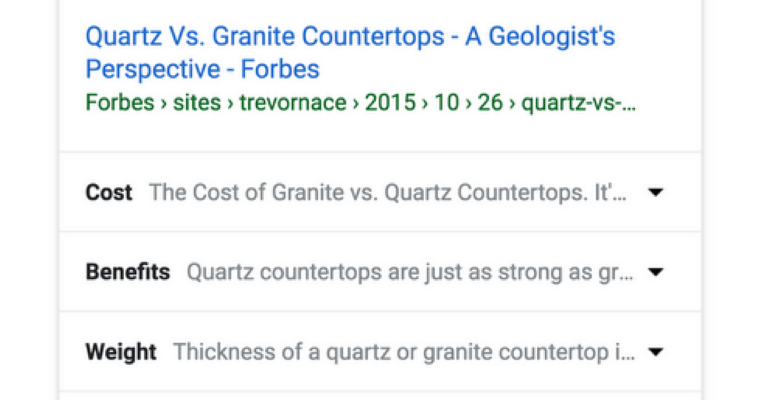 Google Rolls Out New Featured Snippets With Expandable Subtopics