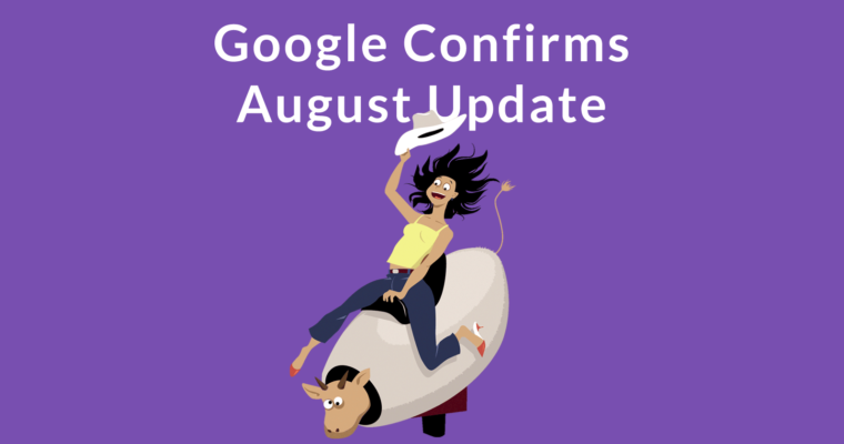 Google Update Confirmed – The Facts and Advice