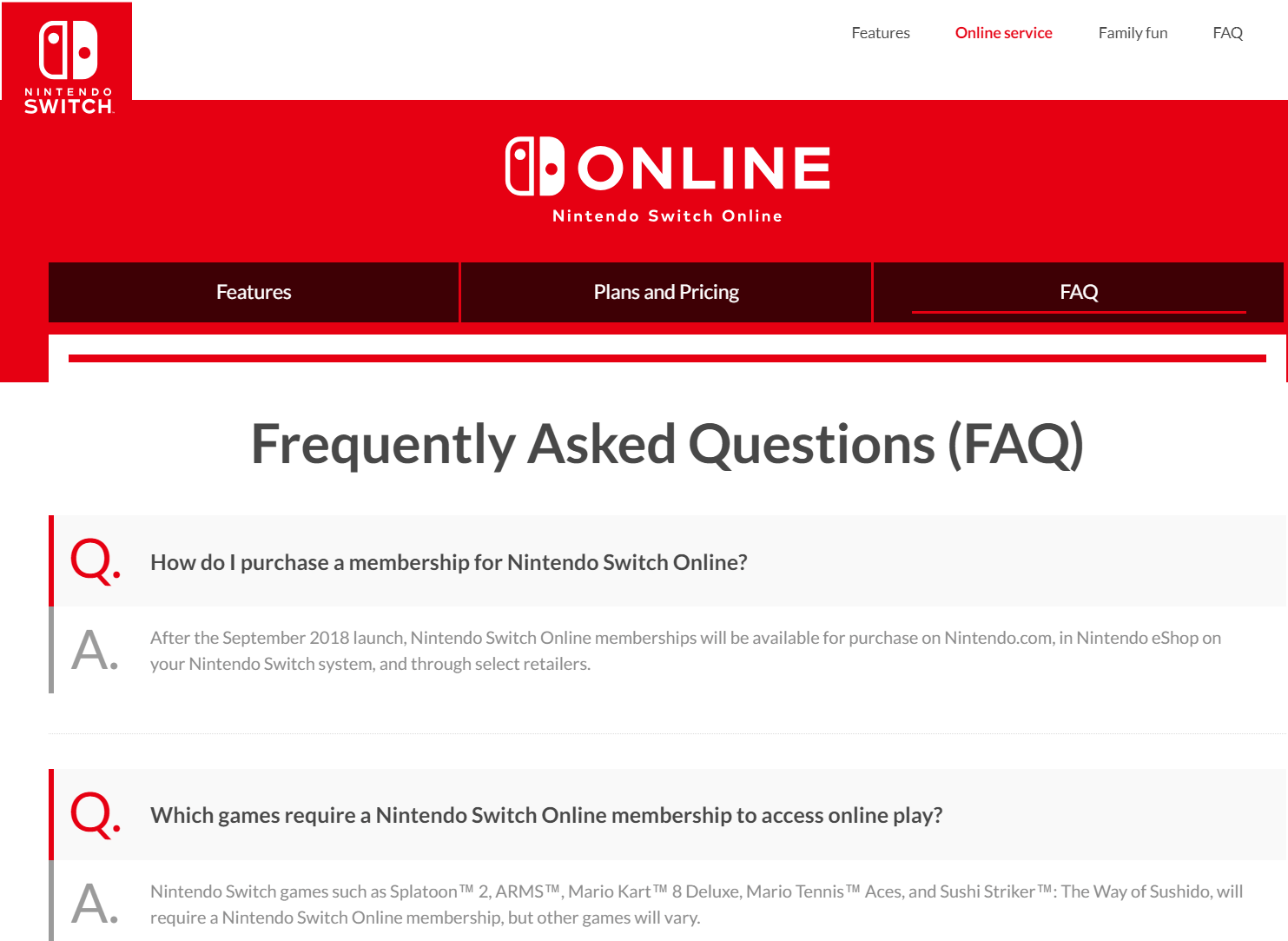 Faqs >> 25 Of The Best Examples Of Effective Faq Pages