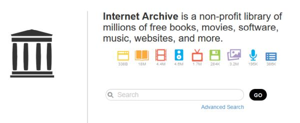 Internet Archive Search