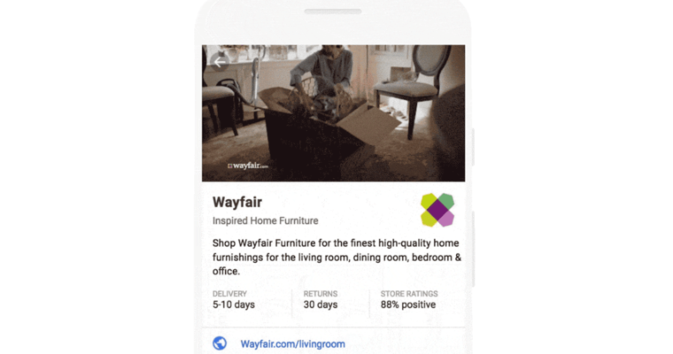 Google Ads Lets Advertisers Include Video in Showcase Shopping Ads