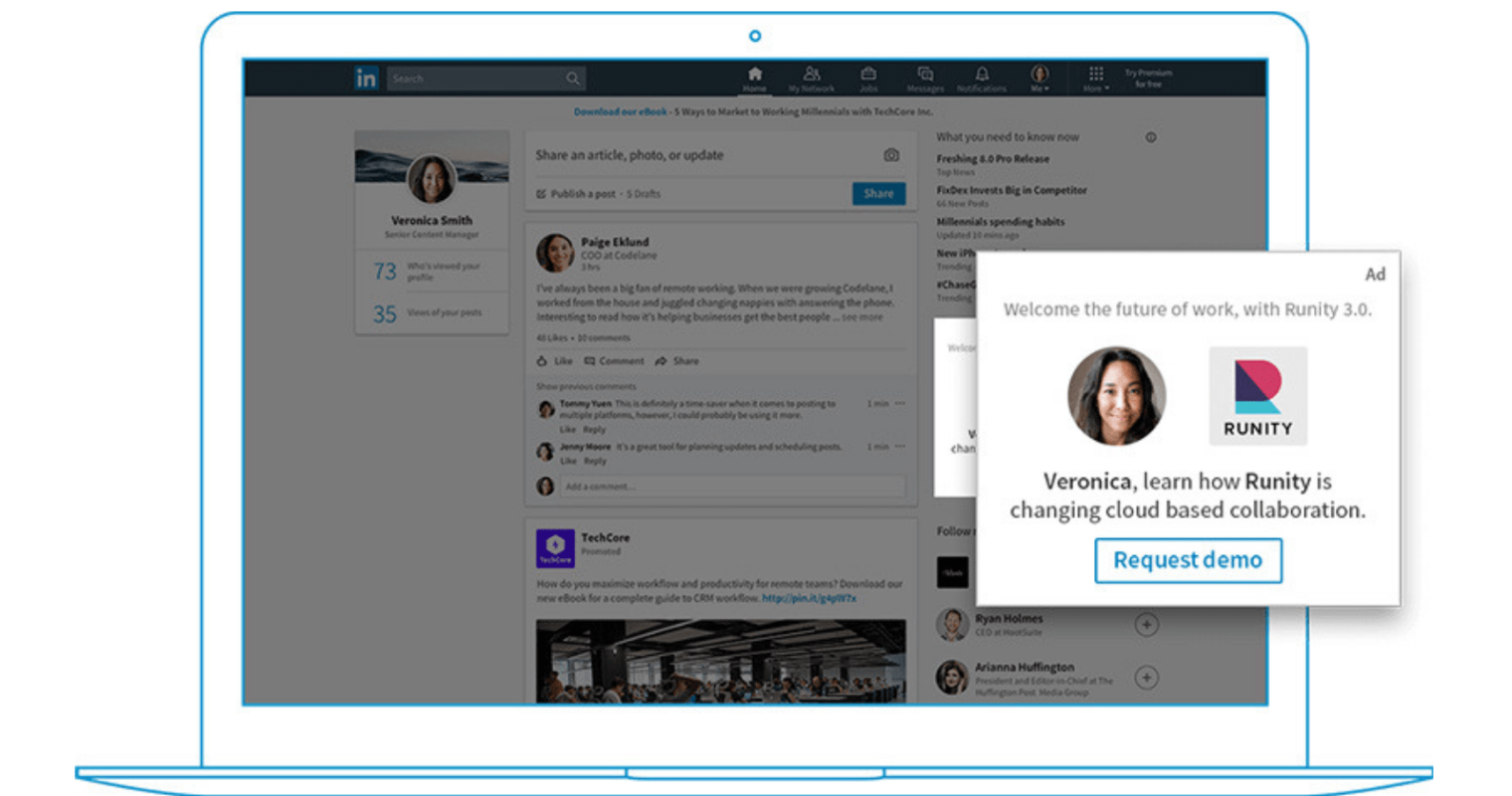 LinkedIn Makes Dynamic Ads Available in Campaign Manager via Self-Service