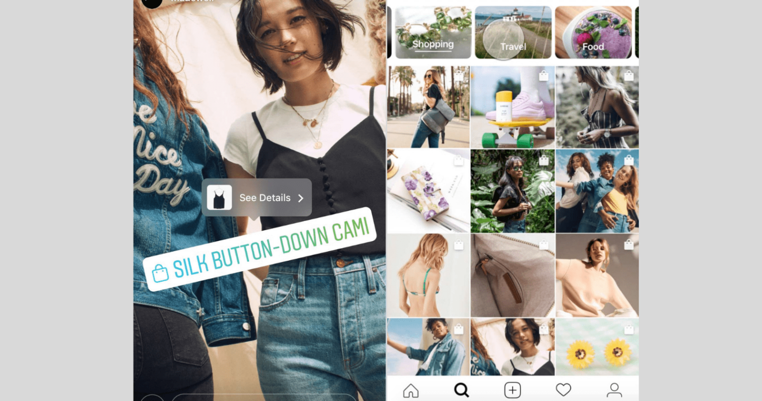 Instagram Introduces Shopping in Stories, New Shopping Section in Explore