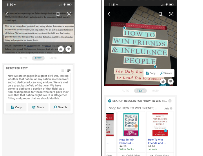 Bing Expands Visual Search With Text Transcription, More