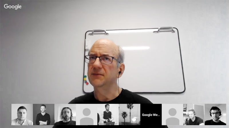 Screenshot of Google's John Mueller discussing how to improve a site that doesn't rank well.