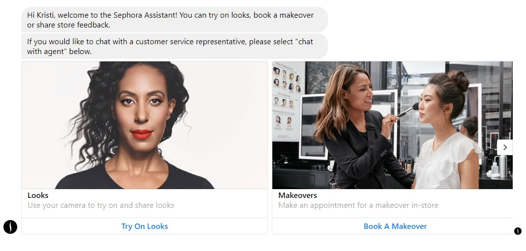 Sephora FB Messenger Chatbot