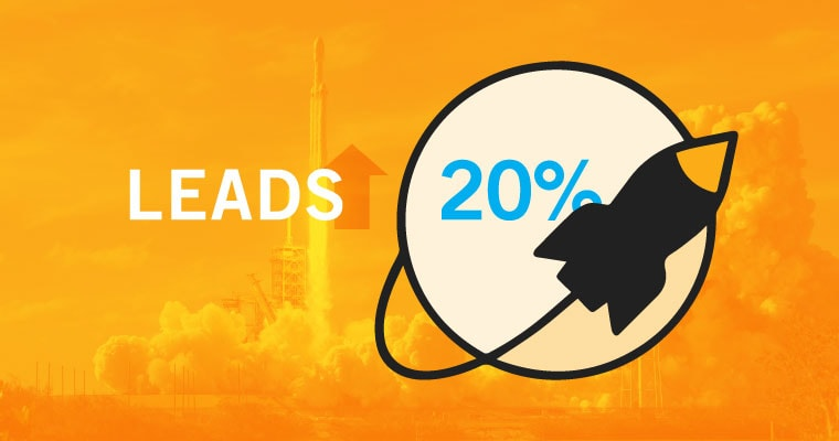 Leads Increased by 20%