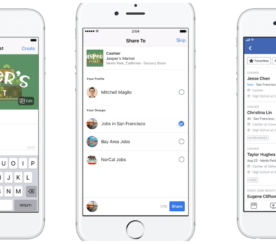Facebook Makes it Easier for Businesses to Hire for the Holiday Rush