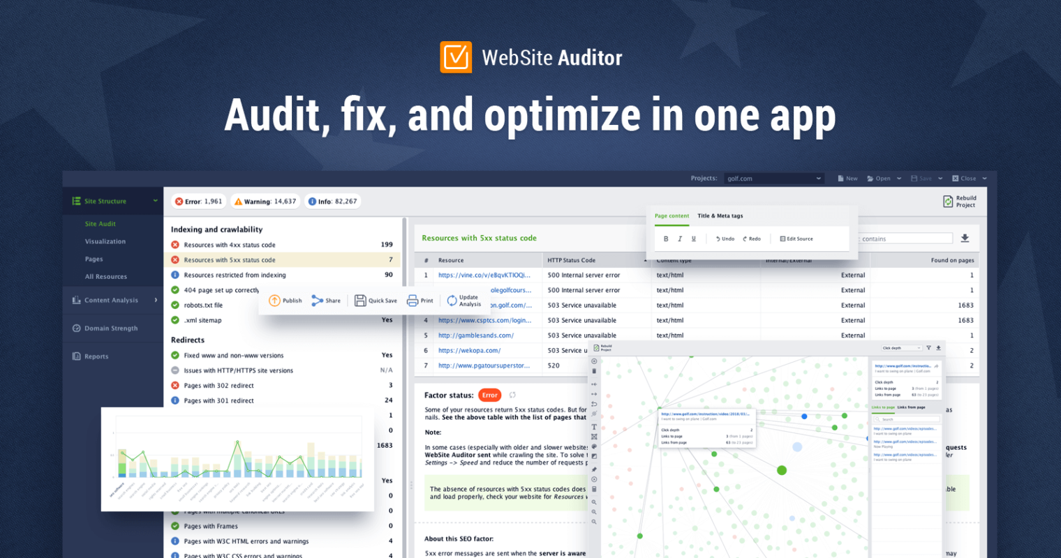 WebSite Auditor Review: One Tool for Tech Audit & On-Page SEO