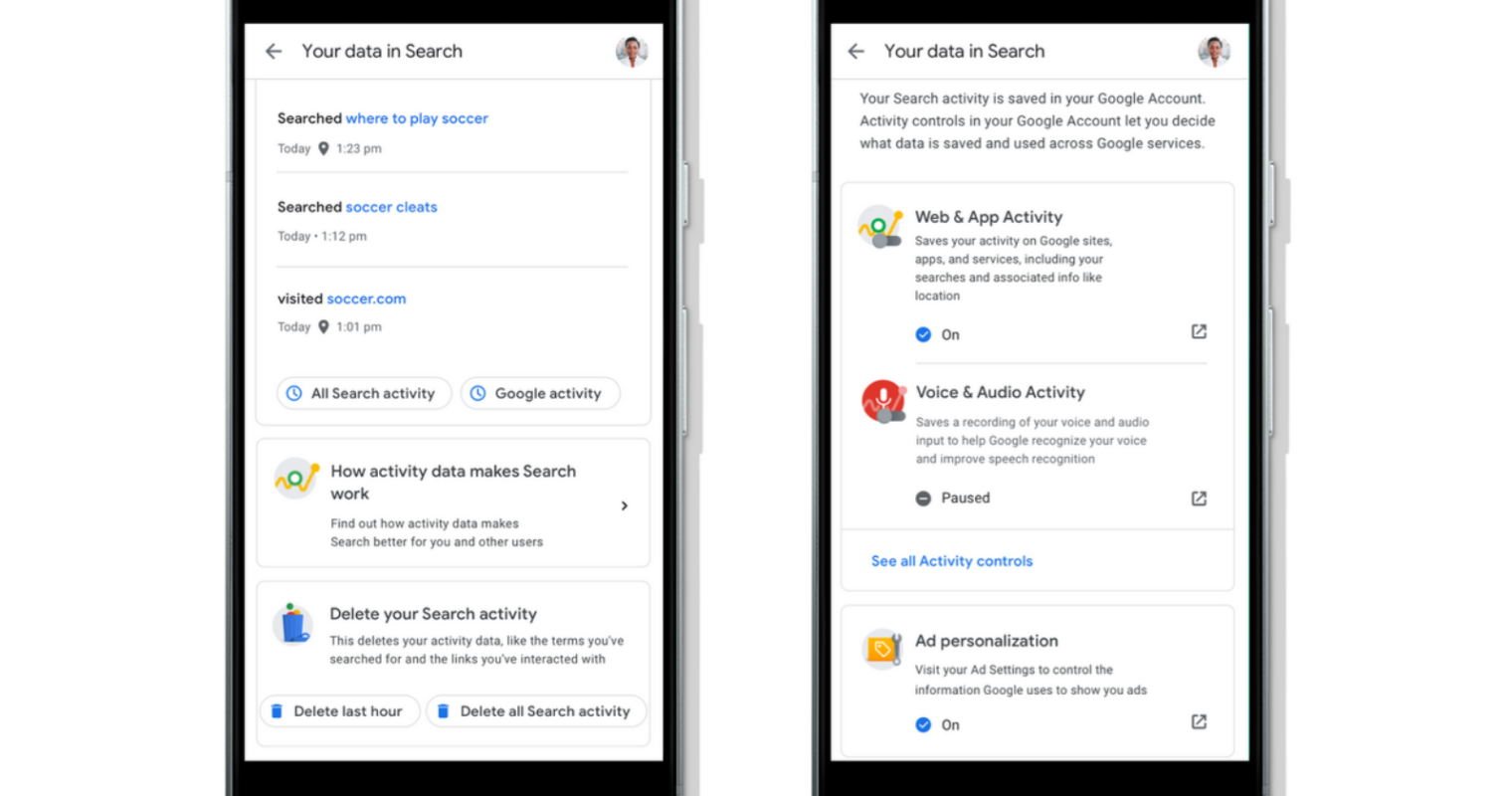 Google Makes it Easier for Users to Delete Search History