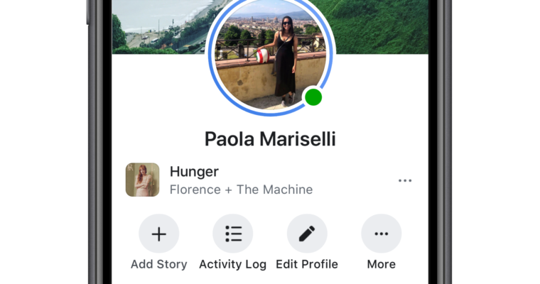 Facebook now allows you to add songs to your Profile