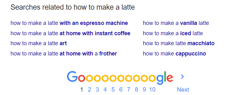 Searches related to how to make a latte
