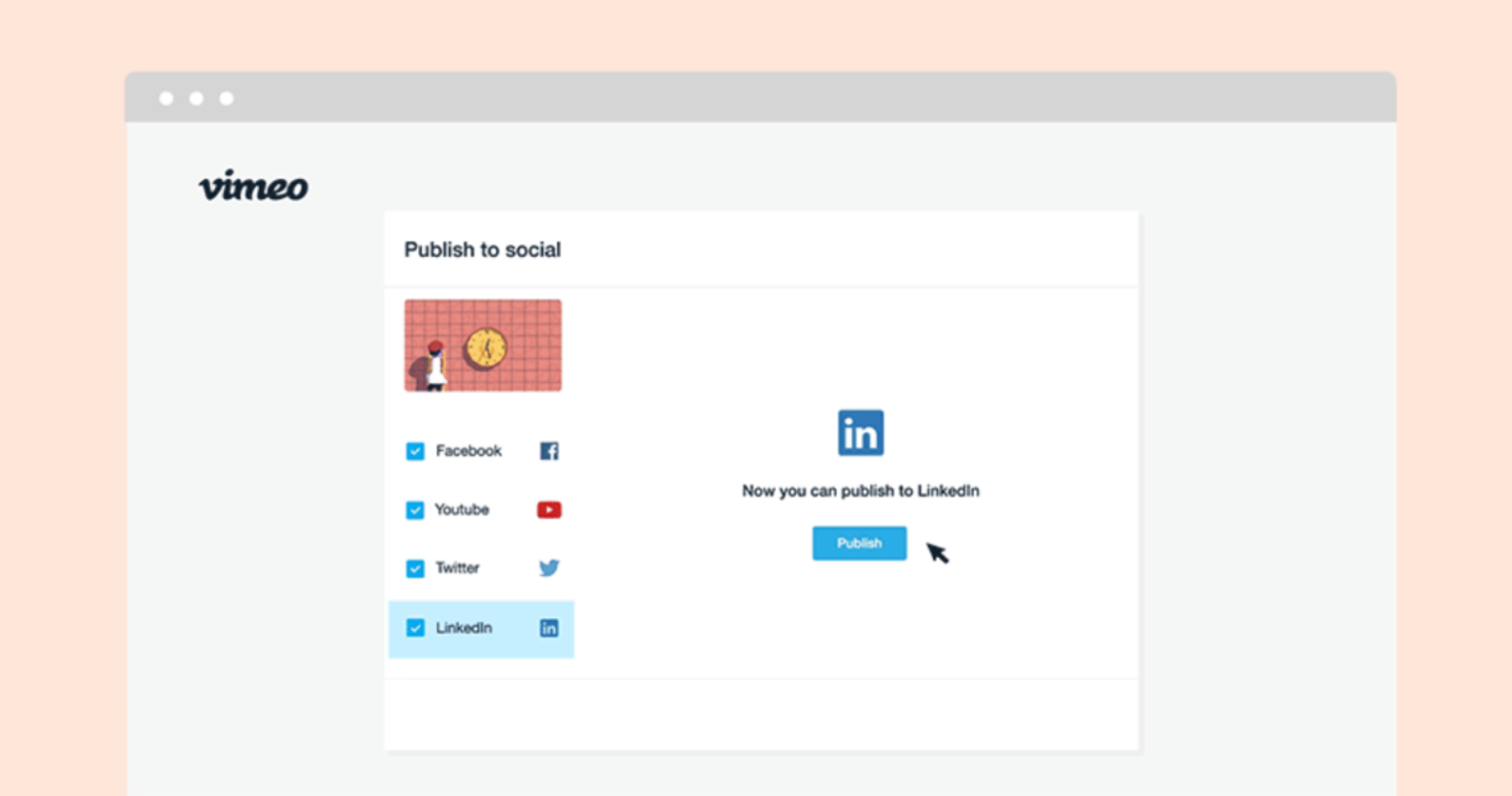 LinkedIn Company Pages Can Now Publish Video Content Directly from Vimeo