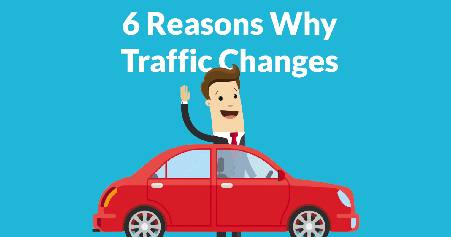 6 Reasons Why Website Traffic is Down