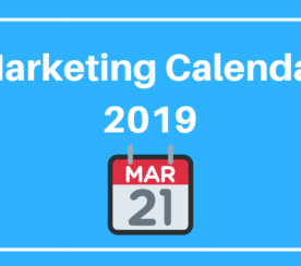 You Need This 2019 Marketing Calendar & Free Templates!