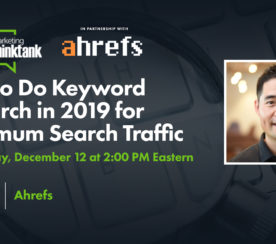 How to Do Keyword Research in 2019 for Maximum Search Traffic [Webinar]