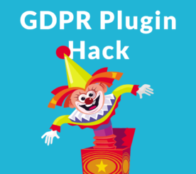 WP GDPR Plugin Hacked – Update Immediately