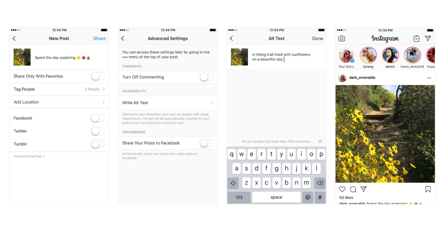 Instagram Lets Users Add Alt Text to Photos