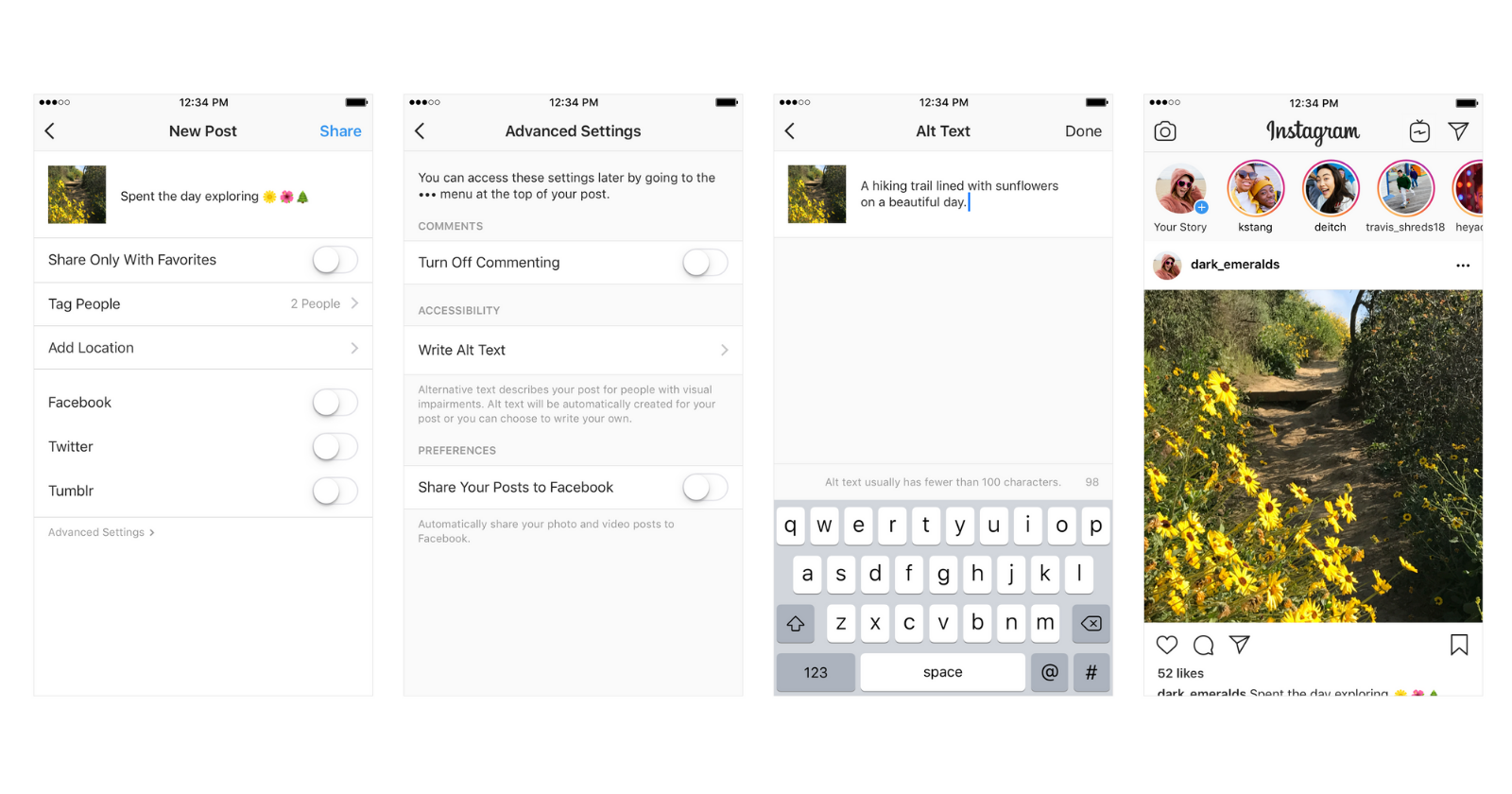 Instagram Lets Users Add Alt Text to Photos - Search Engine