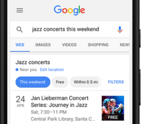 Google Search Console Adds Event Listings to Performance Reports
