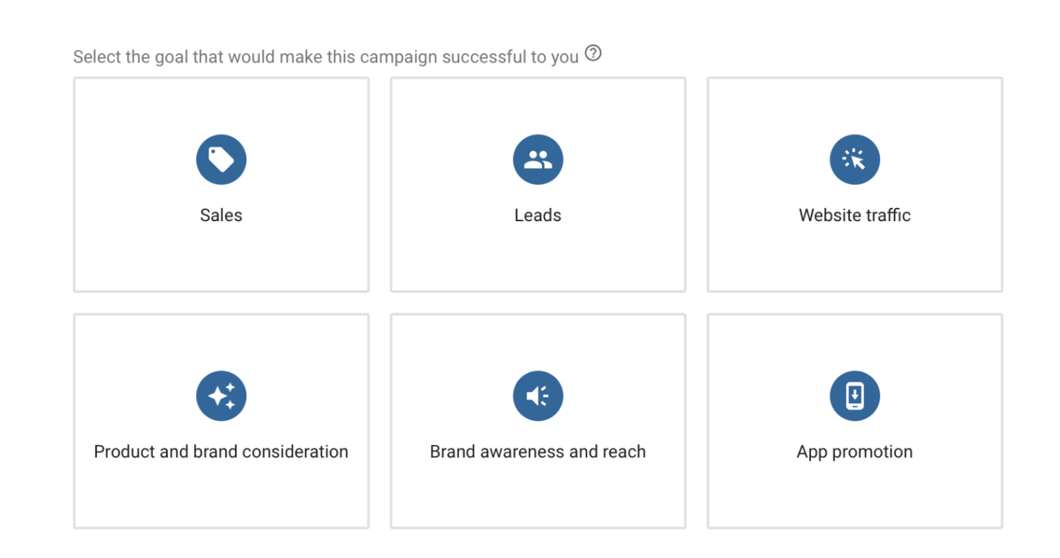 Google Ads Recommends the Best Campaign Types for Specific Business Goals