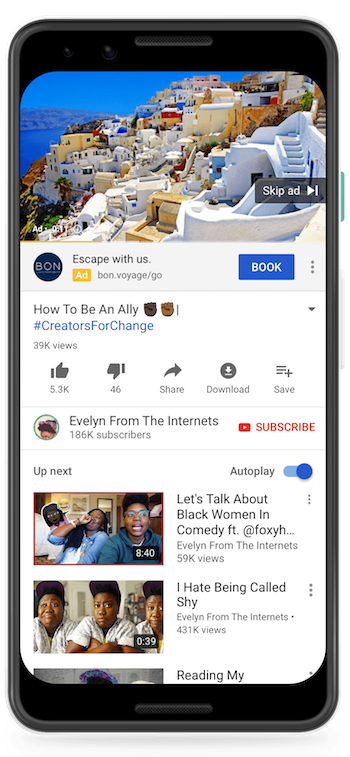 Google to Roll Out New Call-to-Action Extension for Video Ads